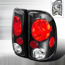 1997-2004 DODGE DAKOTA ALTEZZA TAIL LIGHTS (PAIR) BLACK (Spec-D Tuning)