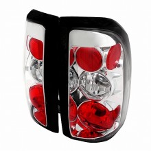 1997-2004 DODGE DAKOTA ALTEZZA TAIL LIGHTS (PAIR) CHROME (Spec-D Tuning)