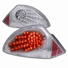 2000-2002 MITSUBISHI ECLIPSE LED TAIL LIGHTS (PAIR) CHROME (Spec-D Tuning)