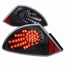 2000-2002 MITSUBISHI ECLIPSE LED TAIL LIGHTS (PAIR) BLACK (Spec-D Tuning)