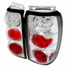 1995-1997 FORD EXPLORER ALTEZZA TAIL LIGHTS (PAIR) CHROME (Spec-D Tuning)
