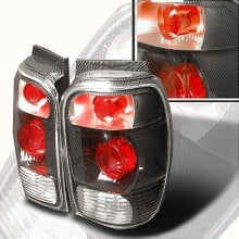 1998-2001 FORD EXPLORER ALTEZZA TAIL LIGHTS (PAIR) CHROME (Spec-D Tuning)