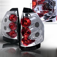 2002-2006 GMC ENVOY ALTEZZA TAIL LIGHTS (PAIR) CHROME (Spec-D Tuning)
