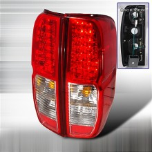 2005-2012 NISSAN FRONTIER LED TAIL LIGHTS (PAIR) RED (Spec-D Tuning)