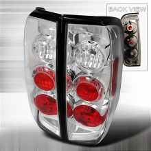 2005-2012 NISSAN FRONTIER ALTEZZA TAIL LIGHTS (PAIR) CHROME (Spec-D Tuning)