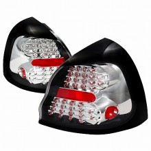 2004-2007 PONTIAC GRAND PRIX LED TAIL LIGHTS (PAIR) CHROME (Spec-D Tuning)