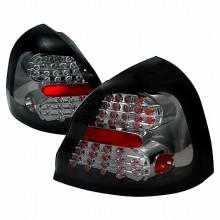 2004-2007 PONTIAC GRAND PRIX LED TAIL LIGHTS (PAIR) SMOKE (Spec-D Tuning)