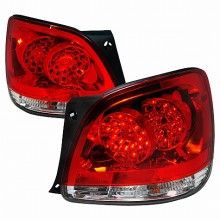 1998-2005 LEXUS GS300 LED TAIL LIGHTS (PAIR) RED (Spec-D Tuning)