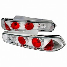 1994-2001 ACURA INTEGRA ALTEZZA TAIL LIGHTS (PAIR) CHROME 2DR (Spec-D Tuning)