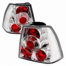 1999-2004 VOLKSWAGEN JETTA ALTEZZA TAIL LIGHTS (PAIR) CHROME (Spec-D Tuning)