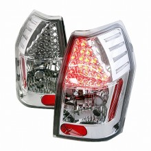 2005-2008 DODGE MAGNUM LED TAIL LIGHTS (PAIR) CHROME (Spec-D Tuning)