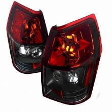 2005-2008 DODGE  MAGNUM ALTEEZA TAIL LIGHTS (PAIR) RED WITH BLACK BOTTOM  (Spec-D Tuning)