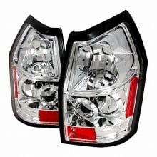 2005-2007 DODGE MAGNUM ALTEZZA TAIL LIGHTS (PAIR) CHROME (Spec-D Tuning)