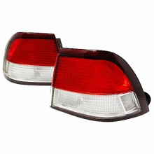 1997-1999 NISSAN MAXIMA ALTEZZA TAIL LIGHTS (PAIR) RED CLEAR (Spec-D Tuning)