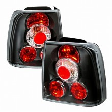 1997-2000 VOLKSWAGEN PASSAT ALTEZZA TAIL LIGHTS (PAIR) BLACK (Spec-D Tuning)