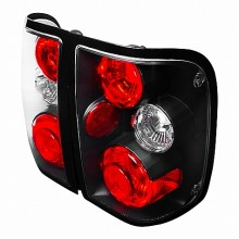 2001-2003 FORD RANGER ALTEZZA TAIL LIGHTS (PAIR) BLACK (Spec-D Tuning)