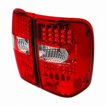 2001-2003 FORD RANGER LED TAIL LIGHTS (PAIR) CHROME (Spec-D Tuning)