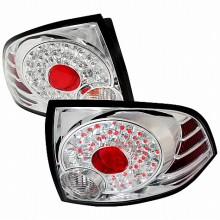 2004-2006 NISSAN SENTRA LED TAIL LIGHTS (PAIR) CHROME (Spec-D Tuning)