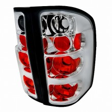 2007-2011 CHEVY SILVERADO ALTEZZA TAIL LIGHTS (PAIR) CHROME (Spec-D Tuning)