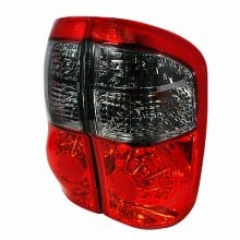 2000-2006 TOYOTA TUNDRA LED TAIL LIGHTS (PAIR) RED SMOKE (Spec-D Tuning)