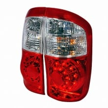 2000-2006 TOYOTA TUNDRA LED TAIL LIGHTS (PAIR) RED (Spec-D Tuning)