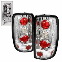 2000-2006 Chevy Suburban Euro Style Tail Lights (PAIR) - Chrome (Spyder Auto)