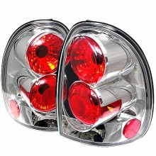 1996-2000 Dodge Caravan Euro Style Tail Lights (PAIR) - Chrome (Spyder Auto)