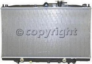 1998-2002 Honda Accord Radiator (2.3L L4 / Valeo)