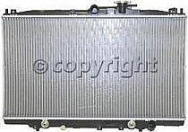 1998 - 2002 Honda Accord Radiator (2.3L L4 + Valeo)