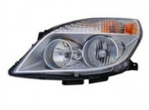 2008-2010 Saturn Aura Headlight Assembly - Left (Driver)