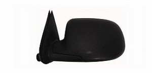 2000-2006 GMC Yukon XL Side View Mirror (Standard Style / Manual / Textured Matte Black) - Left (Driver)