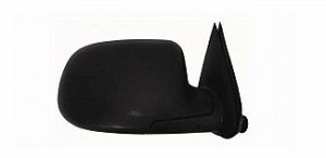 2000-2006 GMC Suburban Side View Mirror (without Off Road Package / Manual / Textured Matte Black) - Right (Passenger)