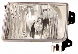 1998-2002 NISSAN FRONTIER CRYSTAL HEADLIGHTS (PAIR) CLEAR   (CG Distribution)