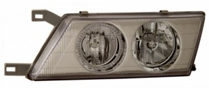 1995-1999 NISSAN SENTRA HEADLIGHTS (PAIR) HALO CHROME  (Anzo USA)