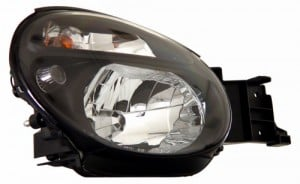2002-2004 SUBARU IMPREZA CRYSTAL HEADLIGHTS (PAIR) BLACK   (Anzo USA)