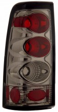 1999-2002 CHEVY SILVERADO TAIL LIGHTS (PAIR) SMOKE   (Anzo USA)