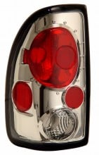 1997-2004 DODGE DAKOTA TAIL LIGHTS (PAIR) CHROME   (Anzo USA)