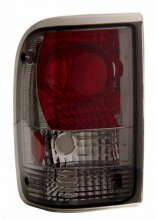 1993-1997 FORD RANGER TAIL LIGHTS (PAIR) SMOKE   (CG Distribution)