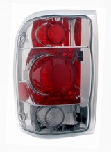1998-2001 FORD RANGER TAIL LIGHTS (PAIR) G2 CHROME  (Anzo USA)