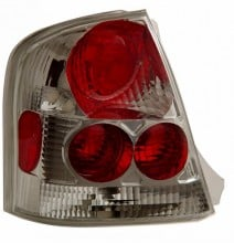 1999-2002 MAZDA PROTEGE TAIL LIGHTS (PAIR) CHROME  (Anzo USA)