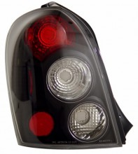 1999-2002 MAZDA PROTEGE 5 DR TAIL LIGHTS (PAIR) BLACK   (CG Distribution)