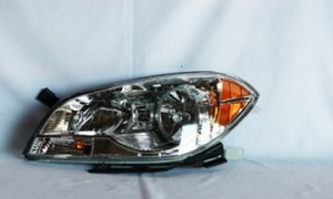 2008-2012 Chevrolet (Chevy) Malibu Headlight Assembly - Left (Driver)