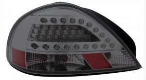 1999-2005 PONTIAC GRAND AM LED TAIL LIGHTS (PAIR) SMOKE  (Anzo USA)