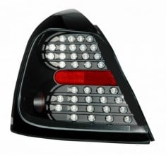2004 2007 pontiac grand prix led tail lights pair black. Black Bedroom Furniture Sets. Home Design Ideas