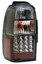 2001-2002 TOYOTA 4 RUNNER LED TAIL LIGHTS (PAIR) JDM BLACK  (CG Distribution)