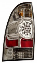 2005-2006 TOYOTA TACOMA LED TAIL LIGHTS (PAIR) CHROME   (CG Distribution)