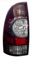 2009-2010 TOYOTA TACOMA LED TAIL LIGHTS (PAIR) SMOKE  (Anzo USA)