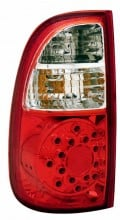 2000-2006 TOYOTA TUNDRA LED TAIL LIGHTS (PAIR) RED/CLEAR (STD BED REGAULAR CAB ACCESS)  (Anzo USA)