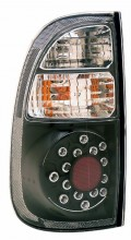 2000-2006 TOYOTA TUNDRA LED TAIL LIGHTS (PAIR) BLACK (STD BED REGAULAR CAB ACCESS)  (CG Distribution)