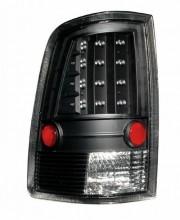 2009-2013 DODGE RAM LED TAIL LIGHTS (PAIR) BLACK  (Anzo USA)